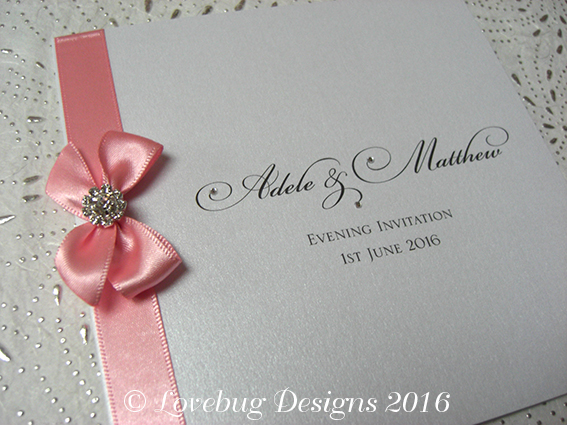Paris Folded Invite