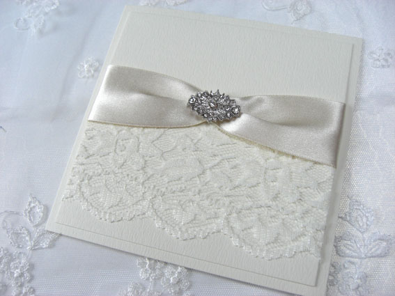 Deco Folded Invitation