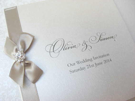Paris Folded Invitation