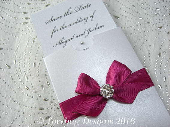 Paris Mini Pocket Save the Date