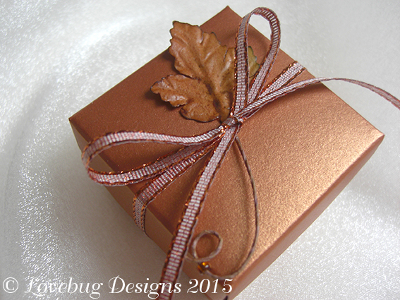 Autumn Copper Favour Box