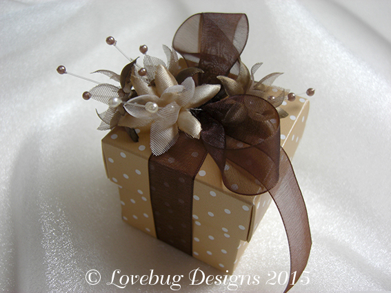 Cafe Creme Favour Box
