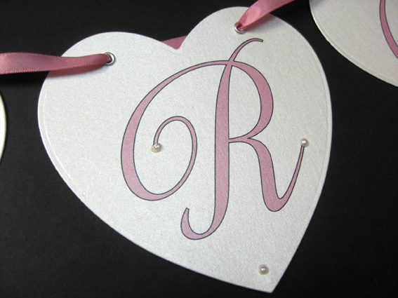 Cards Heart Bunting