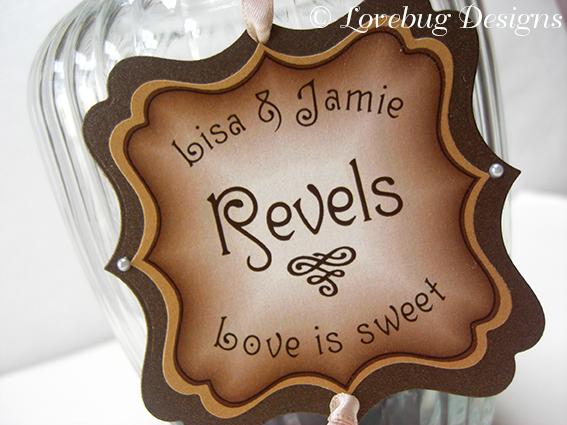 Chocolate Sweet Buffet Tag