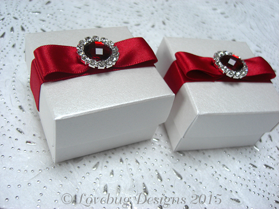 Ruby Red Favour Box