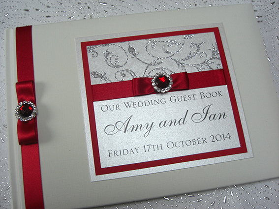 Red Frost Guest Book
