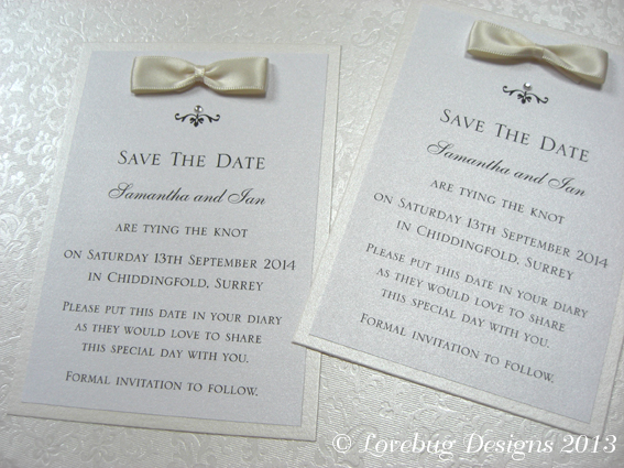 Jeeves Save the Date Post Card