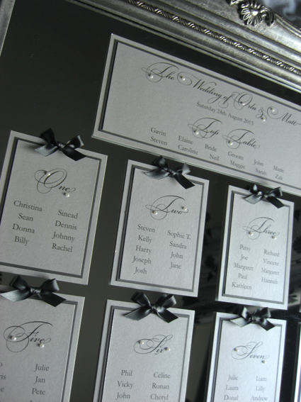 Pearl Table Plan