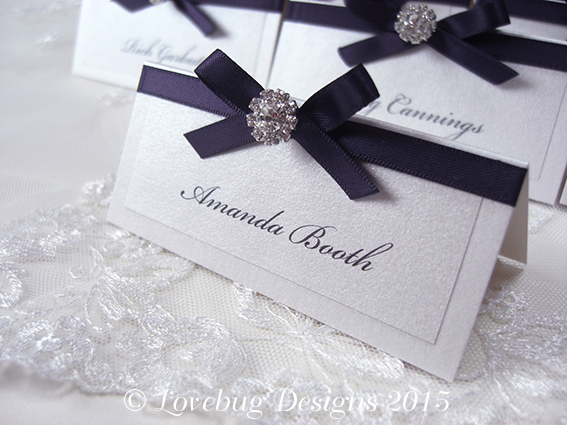 Paris Place Card