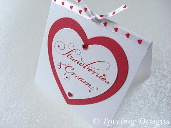 Love Heart Sweet Tag