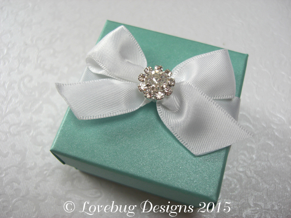 Tiffany Crystal Favour Box