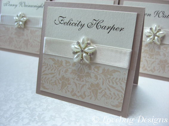 Timeless Place Card