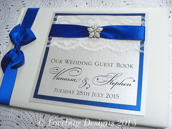 Chantilly Guest Book