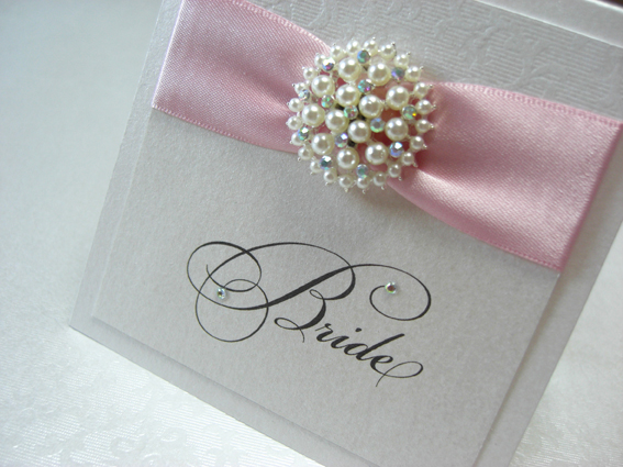 Vintage Pearl Place Card