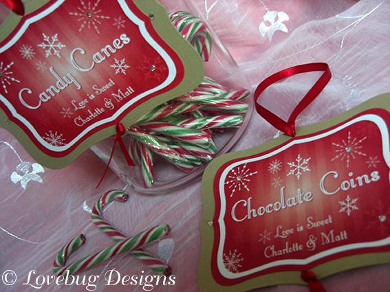 Christmas Sweet Tag