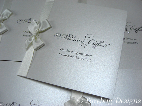 Window Folded Invite