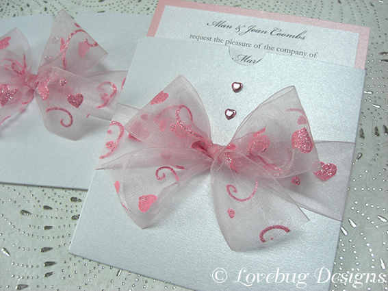 Princess Pocket Invitation