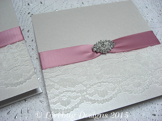 Deco Pocket Fold Invitation