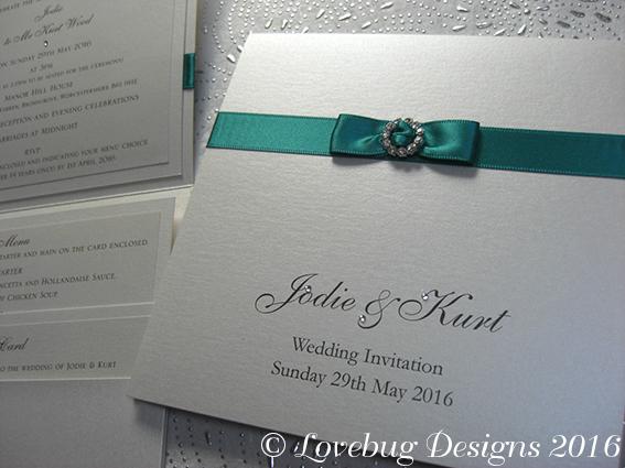 Elegance Pocket Fold Invitation