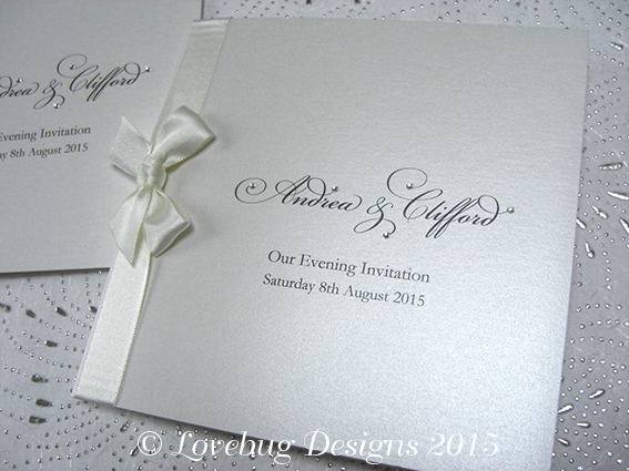 Windsor Folded Invitation