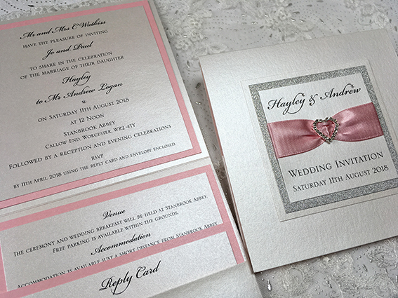 Wedding Invitation Worcestershire