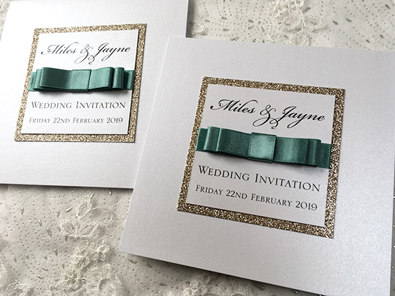 Hepburn Pocket Fold Invitation