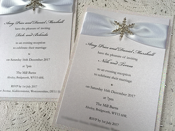 Snow Queen Flat Invitation