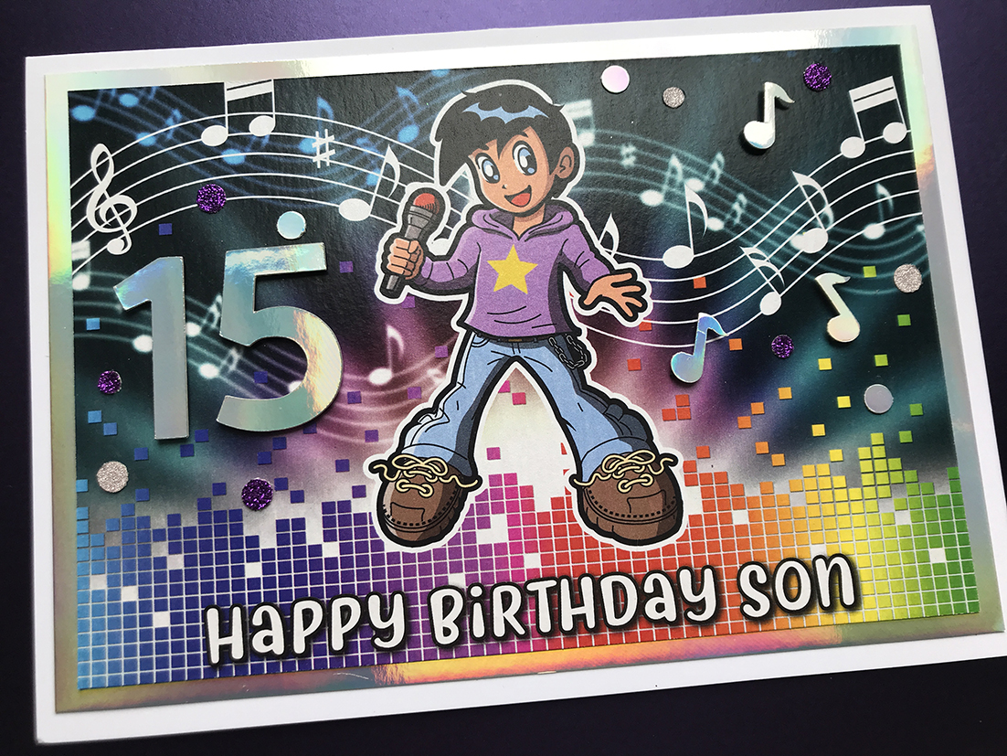 Musical Birthday Card